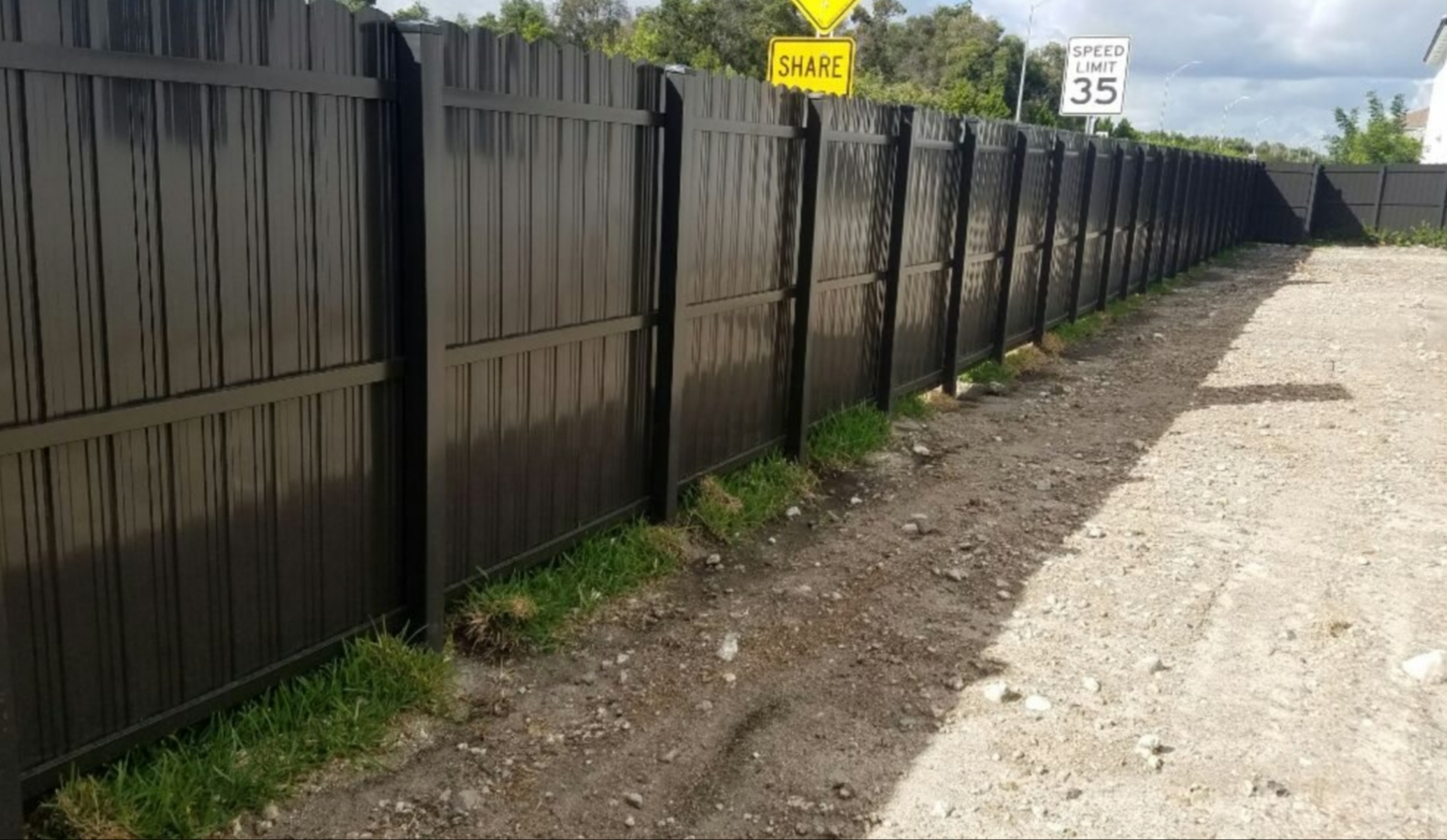 Commercial Fence Installation in Texas.