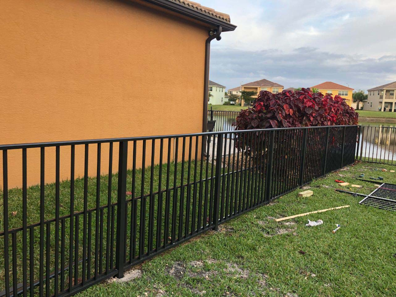 wrought iron fence installation service in austin texas